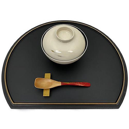 デザートスプーン(霙根来-赤)