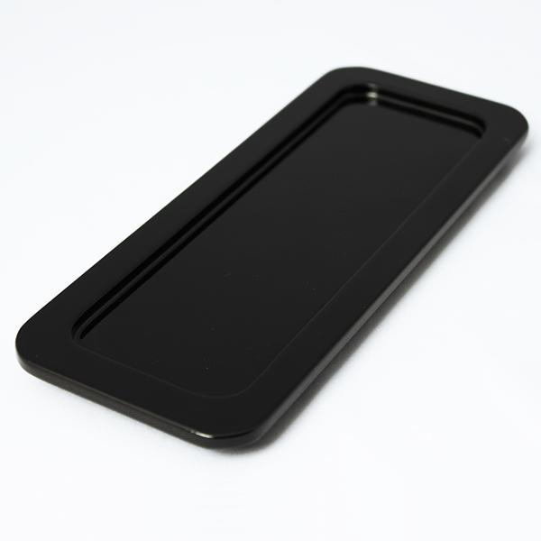おしぼりトレー2P(黒)
