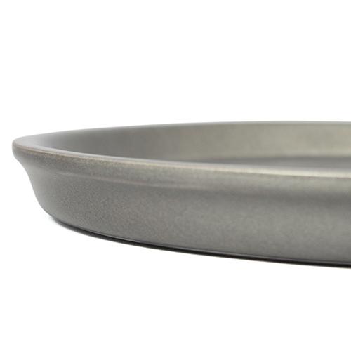 コマ彫りくりぬき丸盆(シルバー)