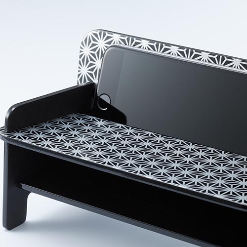 SPEAKER CHAIR bench type - Premium プレーン(黒)