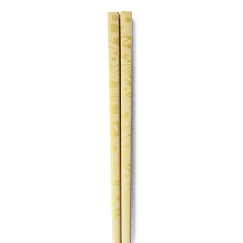 J-Pattern箸 波千鳥(白)