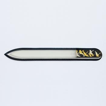 【BLAZEK】ブラジェク ガラス爪やすり 鶴