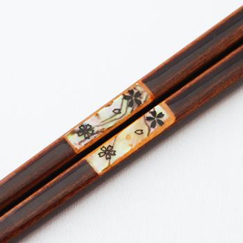 螺鈿夫婦箸セット