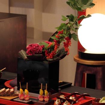 台付花器ハイタイプ(黒・シルバー)