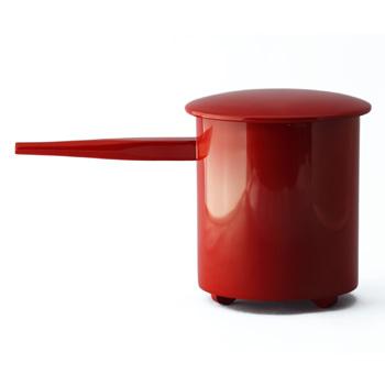 木製酒注ぎ(朱)