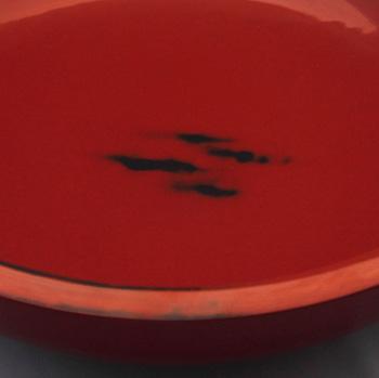 根来塗くりぬきこね鉢