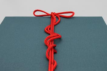 紺和紙・赤紐付(熨斗なし)