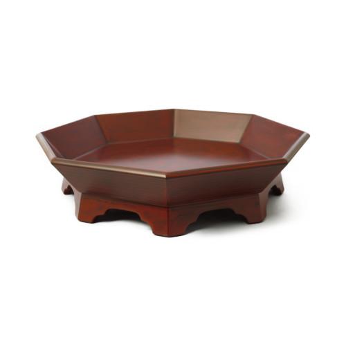 古代根来八角盛鉢