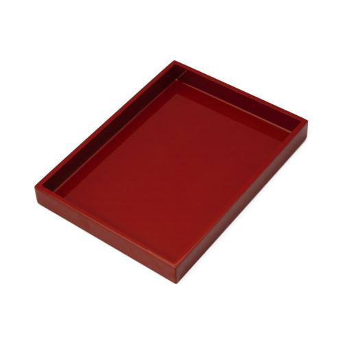 長角小盆(赤)