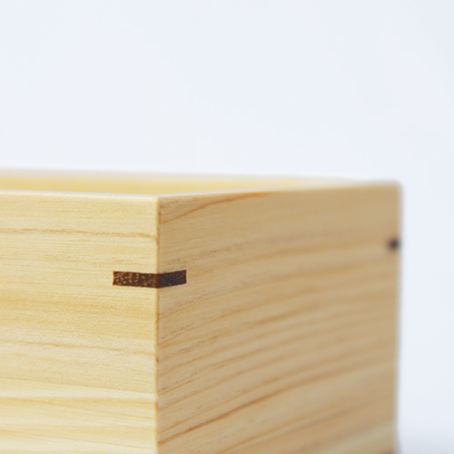 Njeco汎麻の葉一段弁当箱 仕切付(黒)
