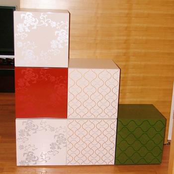 流水カラーボックス(オフホワイト)
