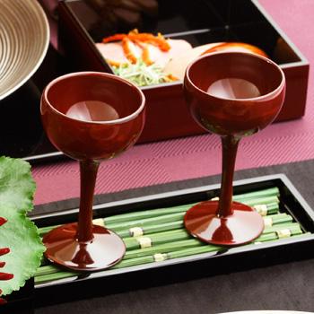 ワインカップ(霞根来-茜)