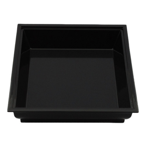 四方盛器(黒)