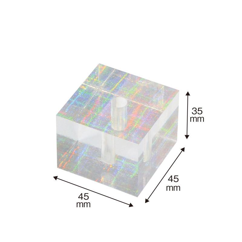 RAINBOW-1<br>スクエア型ペンスタンド<br>【レインボー】<br>エントランス・フロント