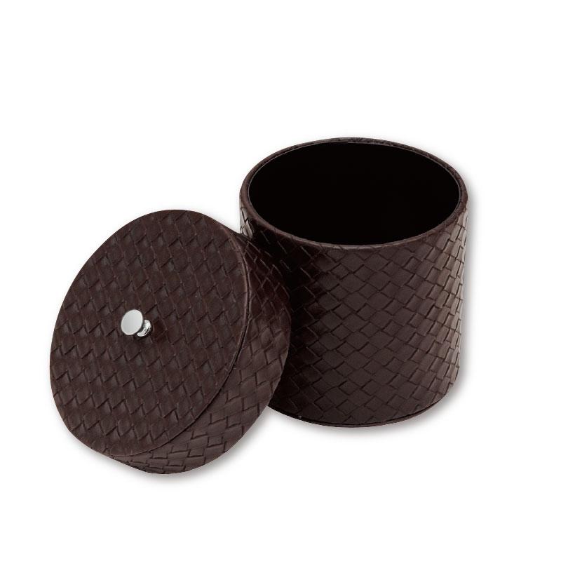TM-U<br>トイレットペーパーケース(丸型筒状 蓋付き)