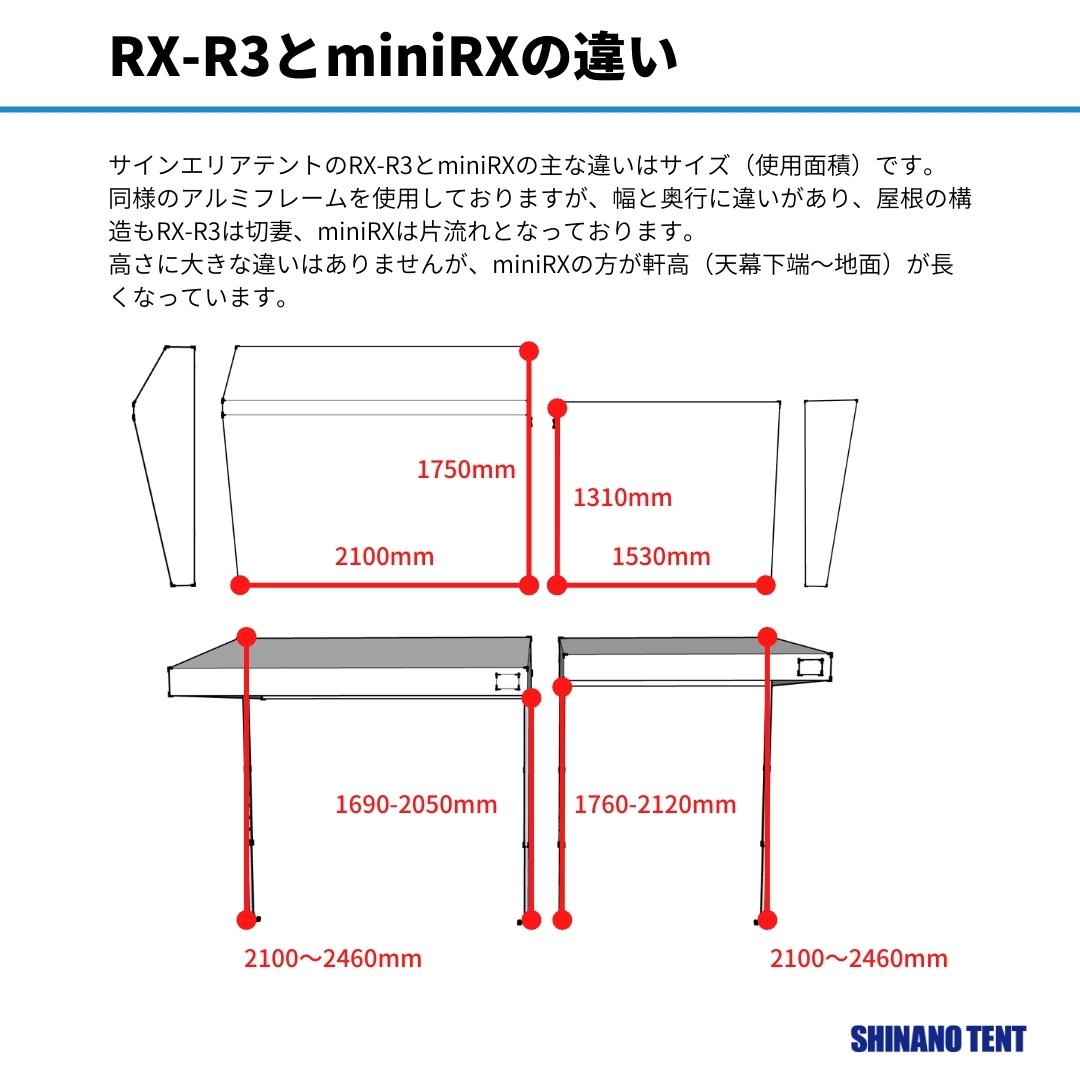 サインエリアテントmini-RX
