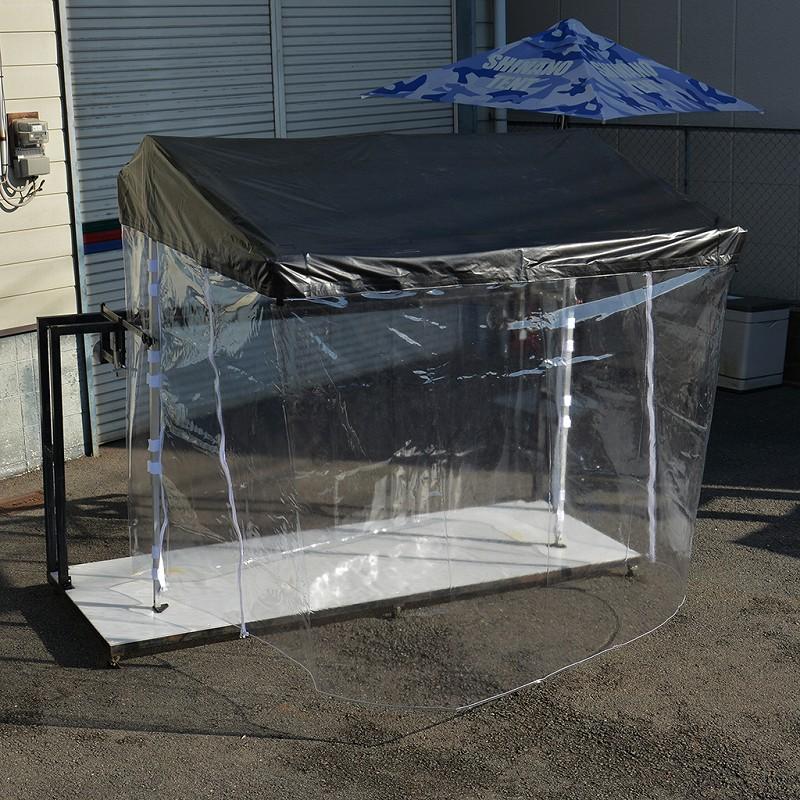 サインエリアテントRX-R3用透明周囲幕