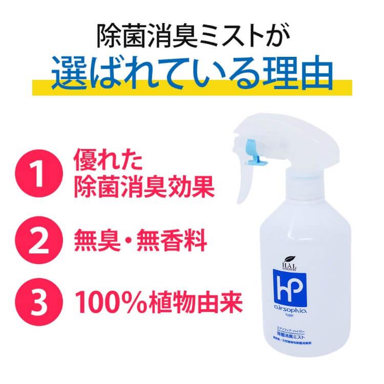 除菌消臭ミスト 詰め替え用1L 2個セット【送料無料】