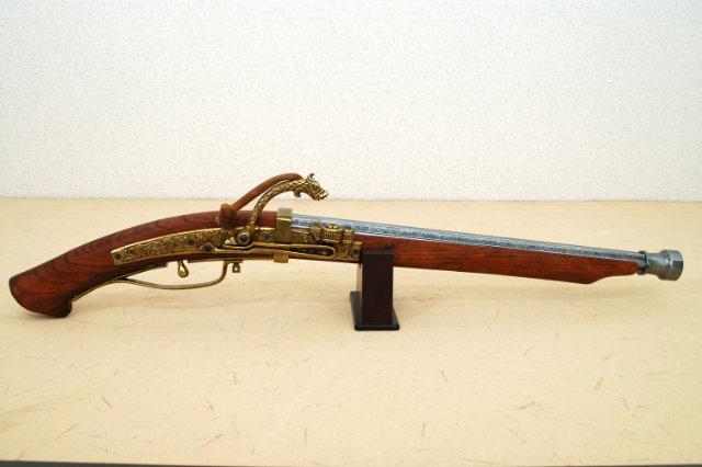 デニックス-復刻銃 1272 火縄銃 種子島中筒 (ポルトガル伝来モデル)