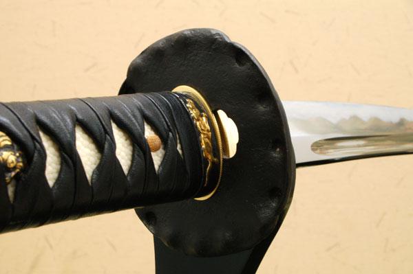 高級居合刀 剣聖 塚原卜伝愛刀 ~来国俊~ しのびや特製刀剣証明書・クリーニングクロス・刀袋セット