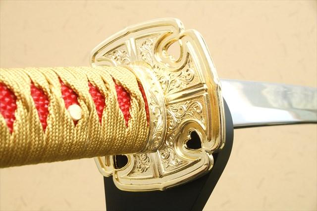 模造刀-陣太刀 源義経太刀拵え 模造刀仕様