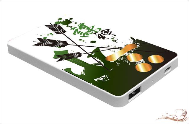 戦国武将モバイルバッテリー 毛利元就 縦型 PSE認証