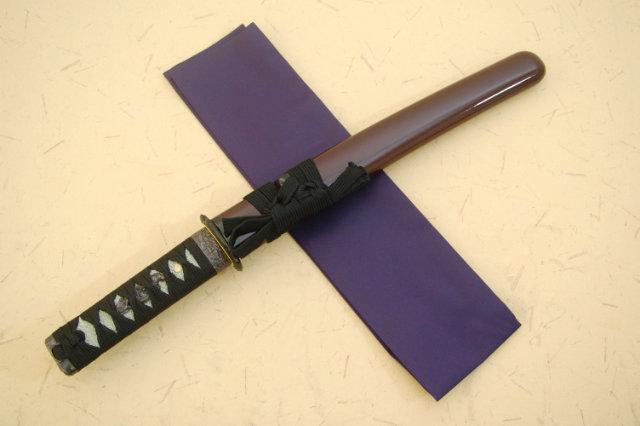 懐刀 ウルミ鞘-美術刀仕様-