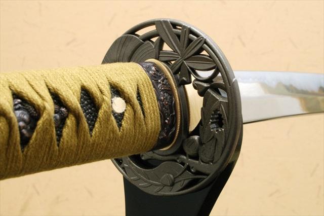 [名刀シリーズ-刀匠] 四谷正宗 源清麿 -亜鉛合金刀身- (刀袋付き)