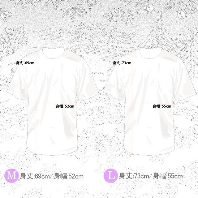 KWBTシャツ/武将 Bushou 漢字