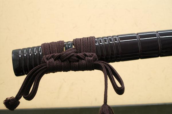 高級居合刀 備前國忠吉~千鳥一文字~ しのびや特製刀剣証明書・クリーニングクロス・刀袋セット