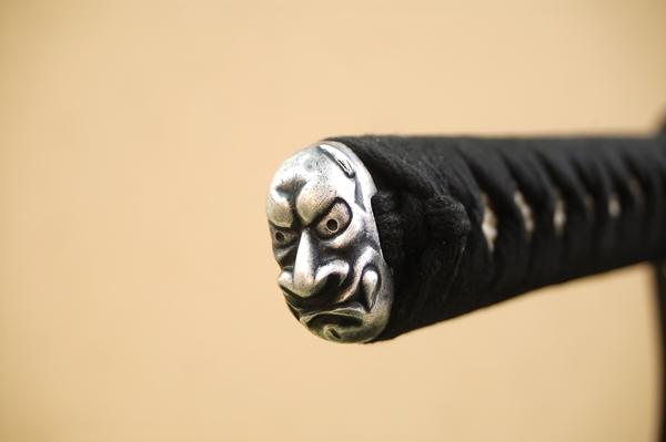 高級居合刀 幕末武用刀 鬼之包丁-鬼神丸国重-(刀袋付き)