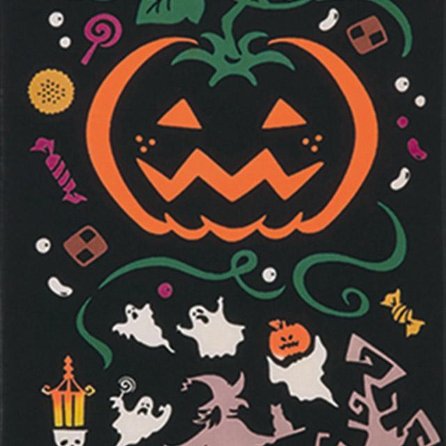 kenema 注染手拭い『ハロウィンナイト』 ハロウィン 秋 かぼちゃ オバケ