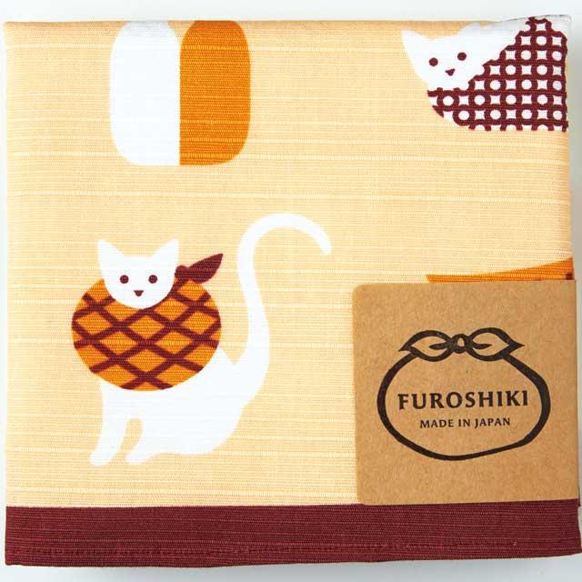 ミヤコレ-おかみさんの小風呂敷 『風呂敷猫』 miyacole-30044