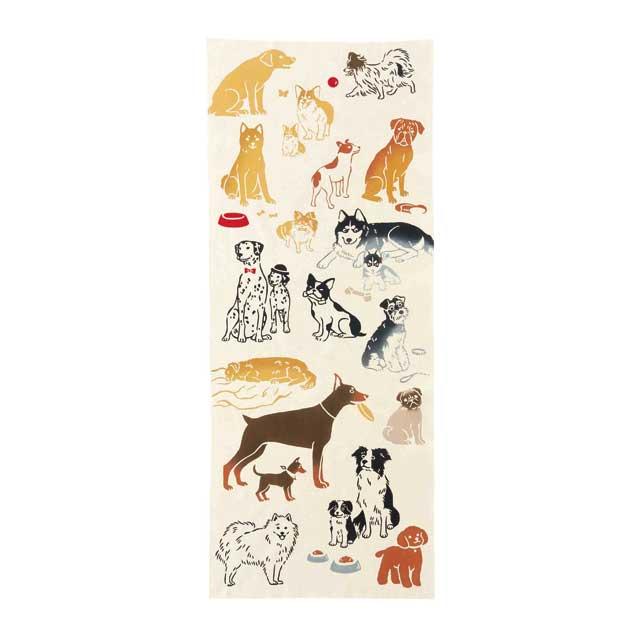 kenema 注染手拭い Favorite Dog 生き物 [ネコポス配送] kenema-50028
