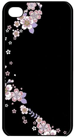 蒔絵シール-転写シール 舞妓はんの華かんざし 4月(桜) MAIKO-04