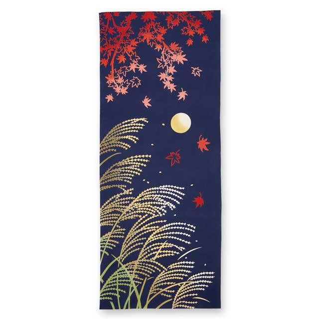 kenema 注染手拭い『中秋の名月』 十五夜