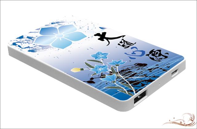 戦国武将モバイルバッテリー 明智光秀 縦型 PSE認証