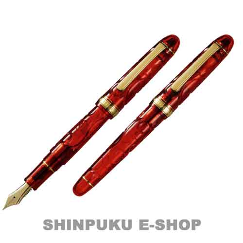 プラチナ万年筆 #3776 センチュリー「錦秋」 世界限定生産 PNB-36000SK-13-1 極細 EF(Z)
