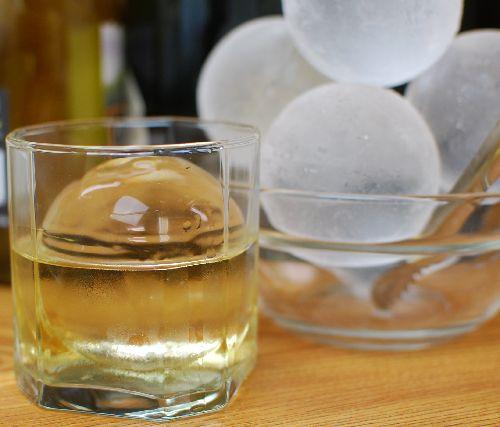 【純氷丸氷マルボーズ】65㎜/3玉×4袋入(12玉),丸氷,透明氷,純氷,ウィスキー,ロック,カクテル,日本酒,ジュース