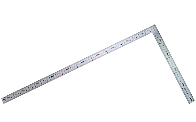 曲尺広ピタ  シルバー  50�  表裏同目  内目盛端面基点目盛JIS