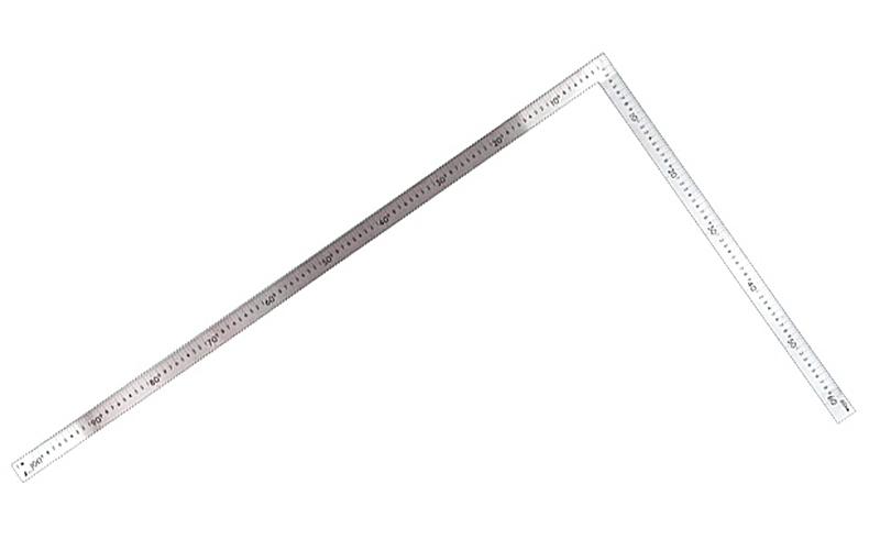 曲尺大金普及型  ステン  1m×60�  表裏同目