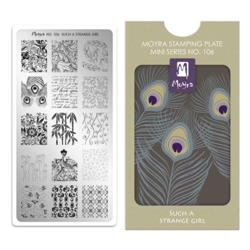 【Xset】Moyra(モイラ):スタンピングアートスターターキット ミニ7点フルセット【3WポータブルLED付】 $