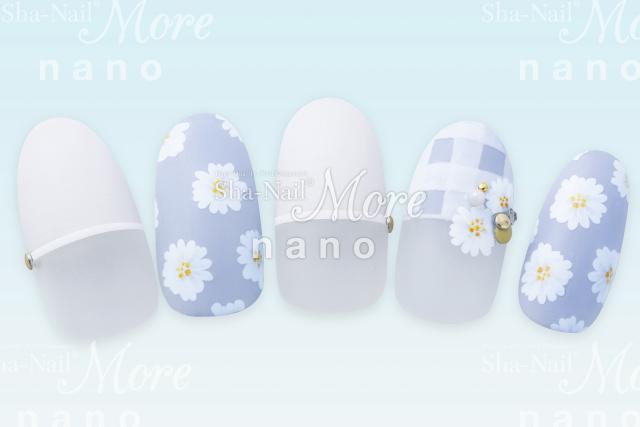 (DM便○)Sha-Nail More nano(写ネイルモアナノ):ネイルシール 【nano】デイジー(ペイント)/MDSY-003