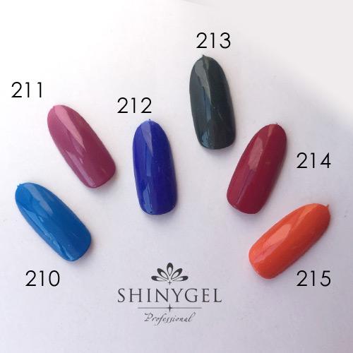 SHINYGEL Professional:カラージェル 210/セルリアンブルー 4g (シャイニージェルプロフェッショナル)[UV/LED対応○](JNA検定対応) $