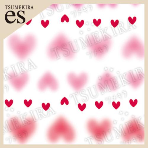 (DM便○)TSUMEKIRA es(ツメキラエス):ネイルシール チーク&ハート/ES-CHK-101