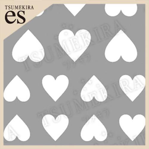 (DM便○)TSUMEKIRA es(ツメキラエス):ネイルシール rrieenee×filerプロデュース2 Love etoile ハート/ES-RXF-103