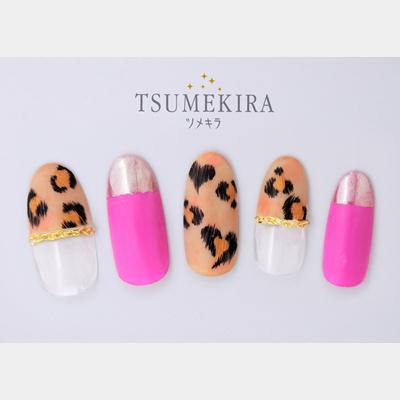 (DM便○)TSUMEKIRA(ツメキラ):ネイルシール レオパード/NN-LEO-101