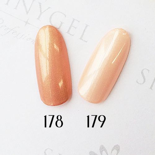 SHINYGEL Professional:カラージェル 178/オロール 4g (シャイニージェルプロフェッショナル)[UV/LED対応○](JNA検定対応)