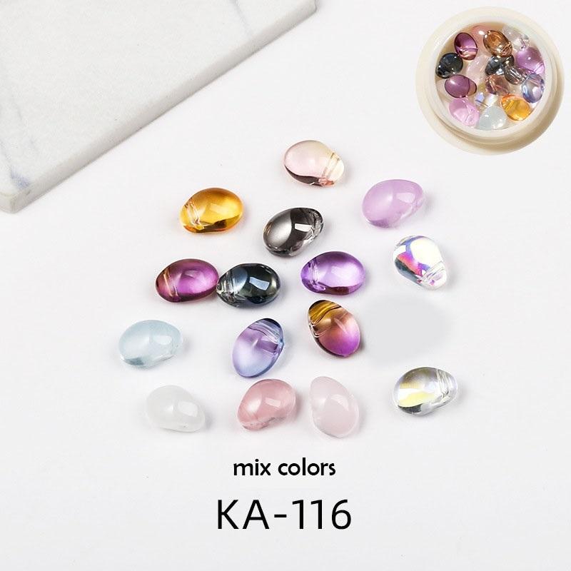 CKナチュラルクリスタルストーン(KA-116) 天然石風オーロラストーン$