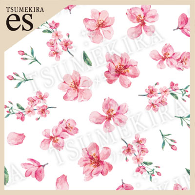 TSUMEKIRA es(ツメキラエス):ネイルシール さくら8/ES-SKR-801